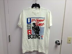 Vintage Usa Boxing Olympic Trials 1991 It's Hammer Time T Shirt Size M