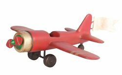 Toy Airplane Christmas Gift Decor Large Prop - Christmas Decoration
