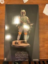Boba Fett Premium Format Sideshow Star Wars 1306 And 429/2,000 Sold Separately
