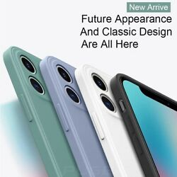 Liquid Silicone Case Camera Lens Cover For Iphone 12 11 Pro Xs Max Xr X 8 7 Plus