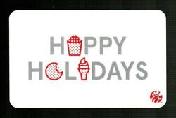 Chick-fil-a Happy Holidays 2020 Gift Card 0