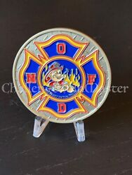 D23 New Orleans Fire Department Engine 27 Ladder 11 Chief 503 Challenge Coin
