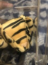 Ty Beanie Baby Stripes The Tiger Style 4065 Retired 1995