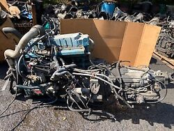 International 6.0 Long Block Engine Missing Parts Good Block And Heads
