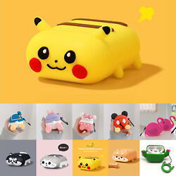 Cute 3D Cartoon AirPods Silicone Case Protective Cover For Apple AirPod 1 2 Pro
