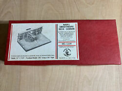Naval Smoothbore Deck Solid Brass Cannon Kit 1109 Vintage