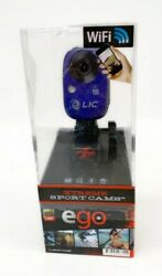 Ego Xtreme Sport Cam Blue Mountable Camera By Liquid Image - Cheaper Than Gopro
