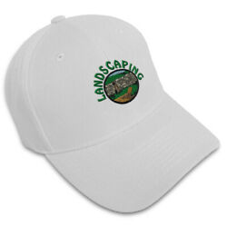 Dad Hats For Men Landscaping Lawn Service Embroidery Women Baseball Caps Acrylic