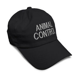 Soft Women Baseball Cap Animal Control Investigate A Embroidery Dad Hats for Men $16.99