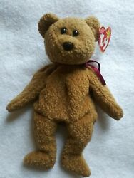 Curly The Beanie Babies Collection 1993 Handmade In China Vintage/rare