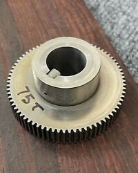 Monarch 10ee Lathe Metric Change Gear 75 T Tooth For Square Dial