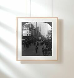 Photo New York City, Nyc, Approved Order Of Redmen, Street Parade, Indian Perio