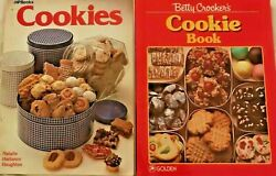 1985, Betty Crocker's Cookie Book, Mixed Lot With 2 More Cookie Cookbooks Baking