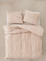 Urban Outfitters Jersey Duvet Cover Size King Pale Mauve Pink. Duvet Cover Only