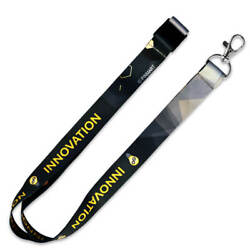 Pinmart's Innovation Employee Recognition Lanyard Name Badge Id Holder