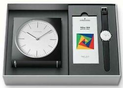 Junghans Max Bill Limited Edition Set 363/2816.00 Bauhas Graphic Bold New