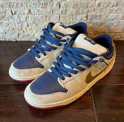 Nike Sb Dunk Low Old Spice Size 11 Authentic Rare 2007 - No Box - Ships Asap