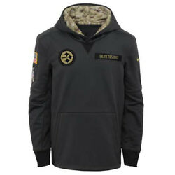 Pittsburgh Steelers Youth 2016 Salute To Service Sweatshirt Pullover Hoody Small