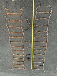 Vintage Tire Chains - 1 Set Of Tire Chain By Snow King