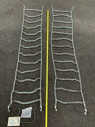 Vintage Tire Chains - 1 Set Of Tire Chain By Sears