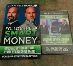 Follow The Smart Money Jon And Pete Najarian Book And Dvd