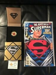 2014 Superman 14k Gold Coin-the Adventures Of Superman And Comics