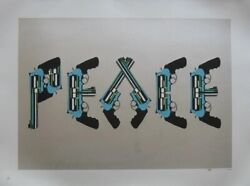 Paul Insect Peace Screenprint - Signed Edition Of 100 - Part Charity Sale