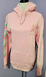 Small Jeffree Star Hoodie Winter 2020 Exclusive Pink Candy Stripe Christmas