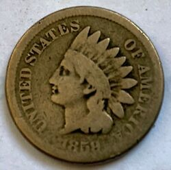 Indian Head Cent 1859 - Coin 2