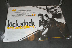Lock Stock And Two Smoking Barrels Original Cinema Poster Double Sided