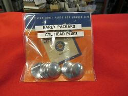 Early Packard Cylinder Head Freeze Plugs