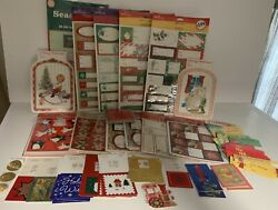 Lot 394 Vintage Hallmark Christmas Gift Tags, Seals, Stickers + 165 Others = 559