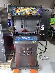 Asteroids Deluxe Stand Up Arcade Game Original Cabinet Free Shipping