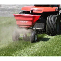 Agriculture Tractor Tow Behind Spreader Pull Earthway Garden Seed Melt 80 Pounds
