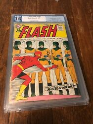 1st Issue Of The Flash In The Flash 105 Pgx 1.5 From 1959. Golden Age