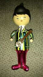 Marilyn Monroe Christmas Ornament With Guitar But Missing Arm...