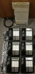 Avaya Lucent Atandt Partner Acs Phone System And 6 18d Phones W/ Voicemail
