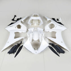 Unpainted Injection Abs Plastic Fairings Bodywork Set Fit For Yamaha Yzf R6 2005