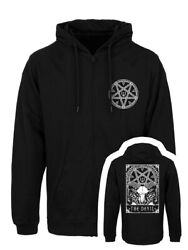 Deadly Tarot Hoodie The Devil Full Zip Menand039s Black