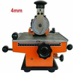 Semi-automatic Sheet Embosser 4mm Font Size About 2-4 Characters/10 Seconds New
