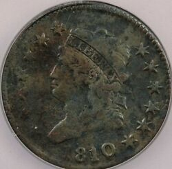 1810/09 Classic Head Large Cent Icg F12 Details