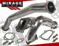Turbo Mid Down Pipe W/ O2 Sensor Bung For Toyota Supra Soarer Chaser 2.5 1jz-gte