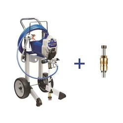 Graco Prox19 Cart Airless Painting Paint Sprayer W Proxchange Replacement Pump