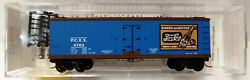 1999 Micro-trains Pepsi Cola 40and039 Double Sheathed Wood Reefer Road Pcex 4702