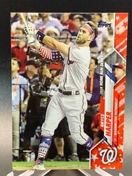 2020 Topps Update Bryce Harper Homerun Derby Independence Day Parallel #d 27 76
