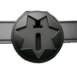 Perfect Fit Cdcr Belt Clip Badge Holder 7 Pt Star Illinois Ca Corrections Chain
