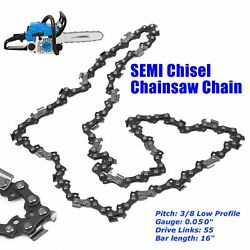 Chainsaw Chain For Stihl Ms170 Ms180 Ms180c Ms181 Ms181c-be Ms190 3/8 Pitch