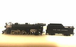 Key Imports N Scale Brass Ney York Central Light 2-8-2 Locomotive 1889 And Tender