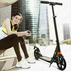 Scooter For Adults/teens Big Wheels Scooter Folding Kick Scooter With Dual E 39