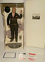 Franklin Mint Frank Sinatra Musical Porcelain Doll New In Box